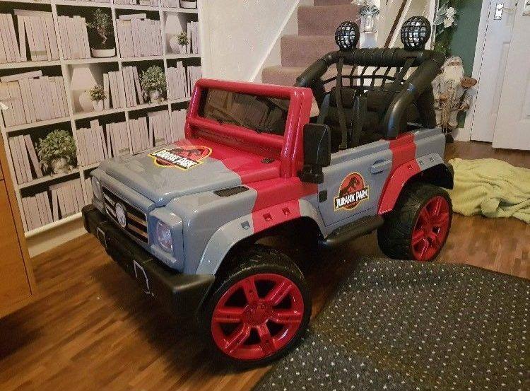 Jurassic Park Kids Jeep