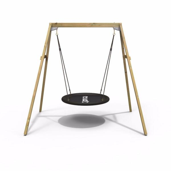 Rebo Active Range Wooden Garden Nest Swing Set-18620