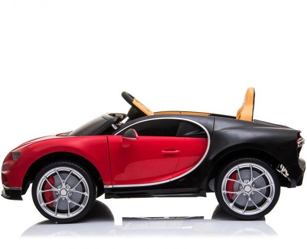Licensed Bugatti Chiron 12V Electric Ride on Car - Red