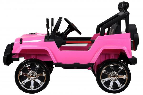 Kids electric cars - Wrangler 4WD black - side view