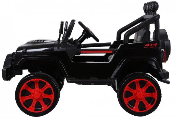 Wrangler Jeep 4x4 style ride on car side view