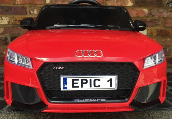 audi tt ride on car front epic