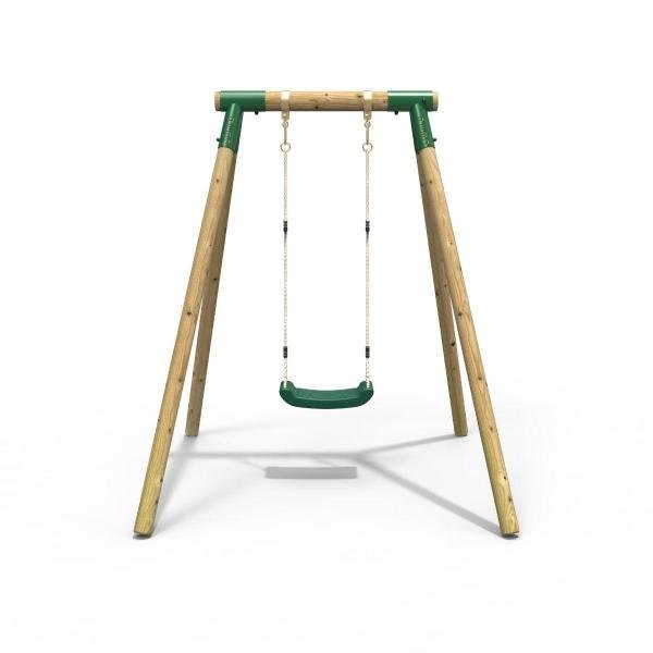 Rebo Junior Range Wooden Garden Swing Set - Junior Solar-18689