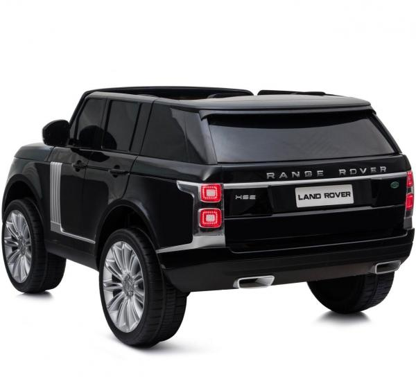 Licensed 24v Range Rover Vogue HSE Sport 4WD 2 Seater Kids Ride On Jeep - Black