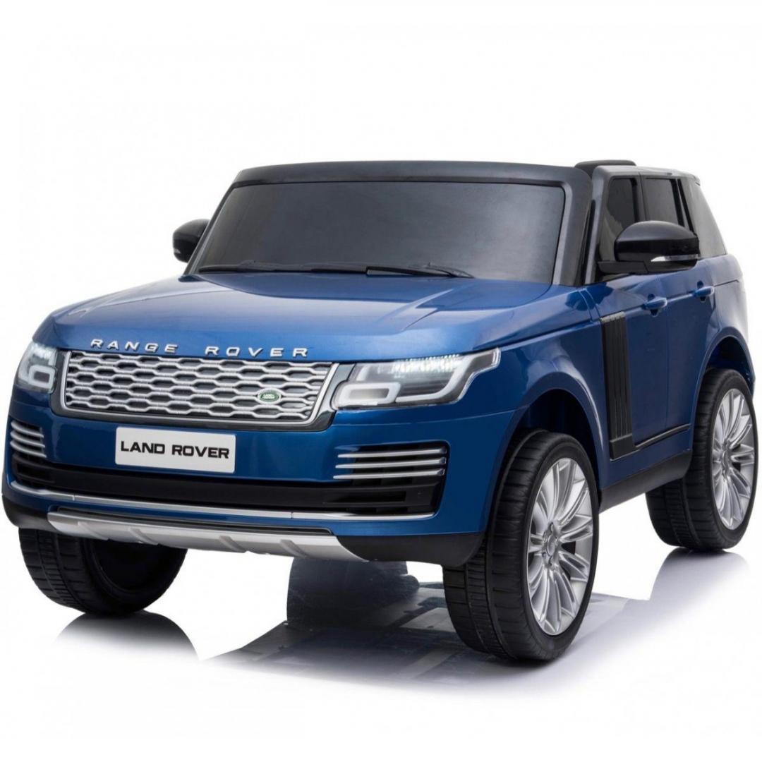 Blue Range Rover Vogue