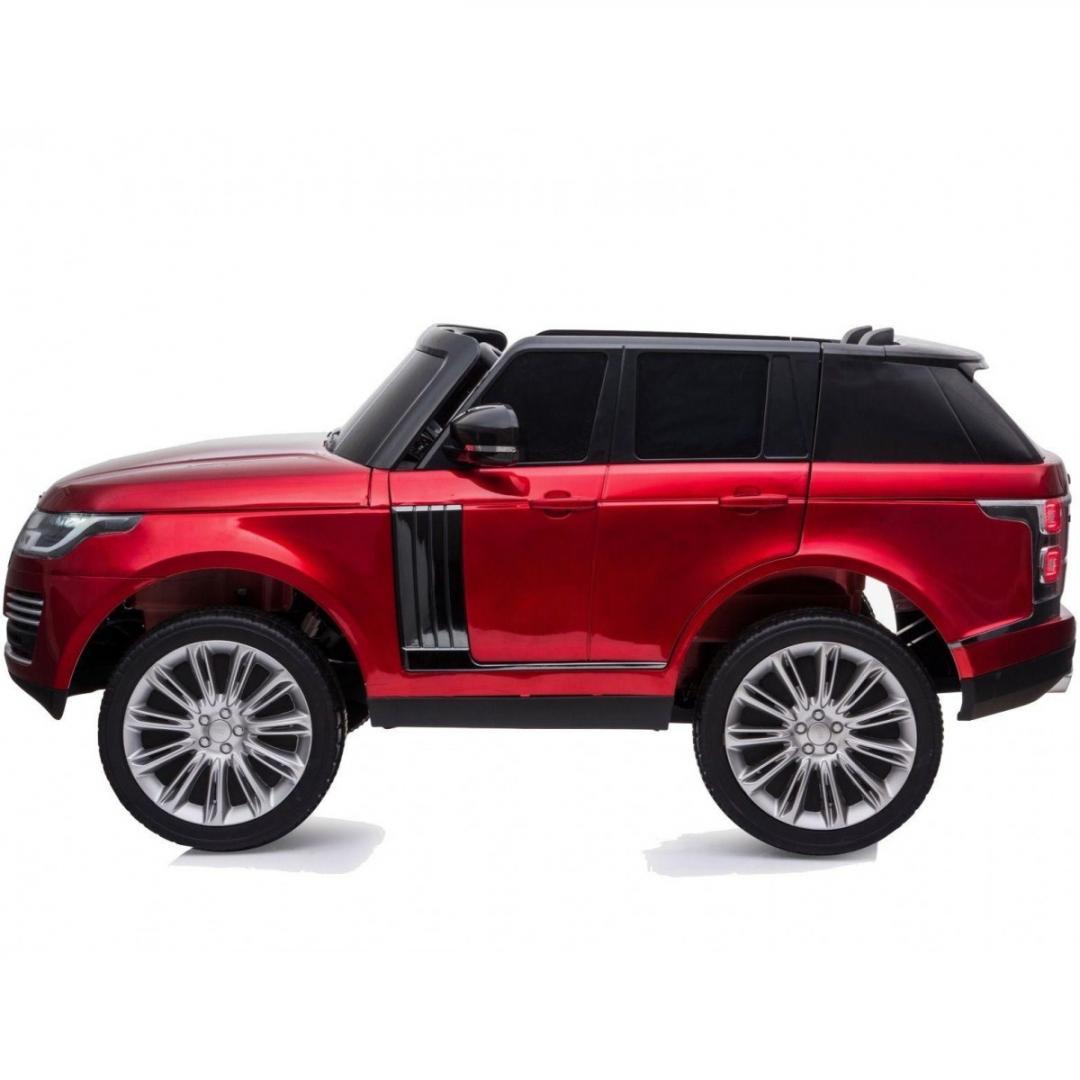 REd Range Rover Vogue