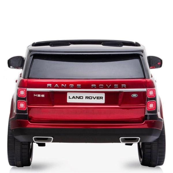 Licensed 24v Range Rover Vogue HSE Sport 4WD 2 Seater Ride On Jeep - Red Rear View