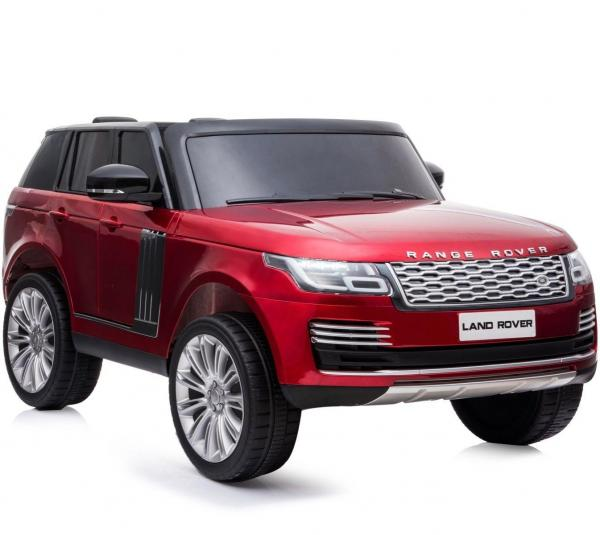 Licensed 24v Range Rover Vogue HSE Sport 4WD 2 Seater Ride On Jeep - Red Front View