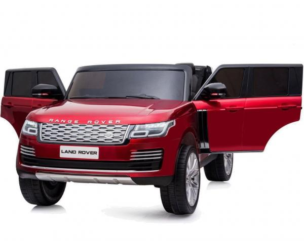 Licensed 24v Range Rover Vogue HSE Sport 4WD 2 Seater Ride On Jeep - Red opening Doors