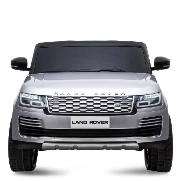 Licensed 24v Range Rover Vogue HSE Sport 4WD 2 Seater Ride On Jeep - Silver Front View