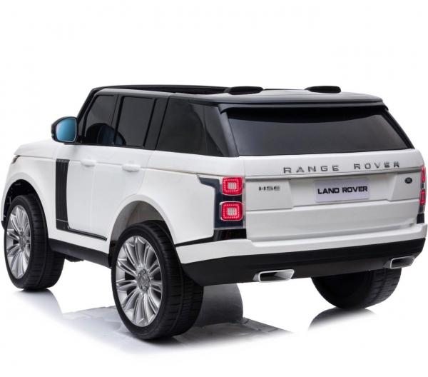 Licensed 24v Range Rover Vogue HSE Sport 4WD 2 Seater Ride On Jeep - White Rear