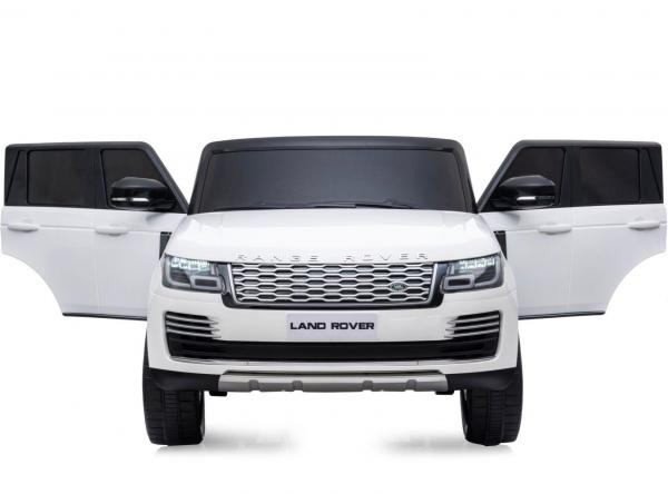 Licensed 24v Battery Range Rover Vogue HSE Sport 4WD 2 Seater Kids Ride On Jeep - White