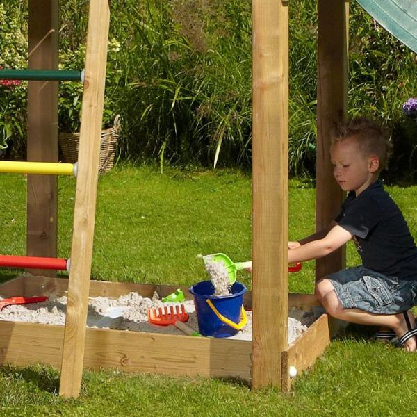 Jungle Gym - Childrens Wooden Climbing Frame