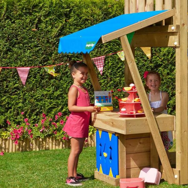 Jungle Gym - Climbing Frame for Small Garden - Lodge Mini Market
