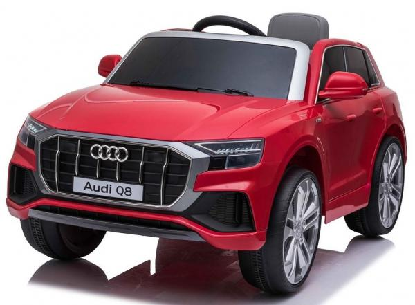 Licensed Audi Q8 SUV 12v Battery / Electric Ride on Car Red-0
