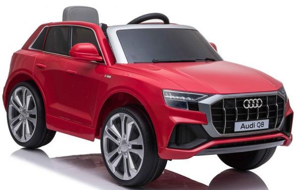 Licensed Audi Q8 SUV 12v Battery / Electric Ride on Car Red-19090