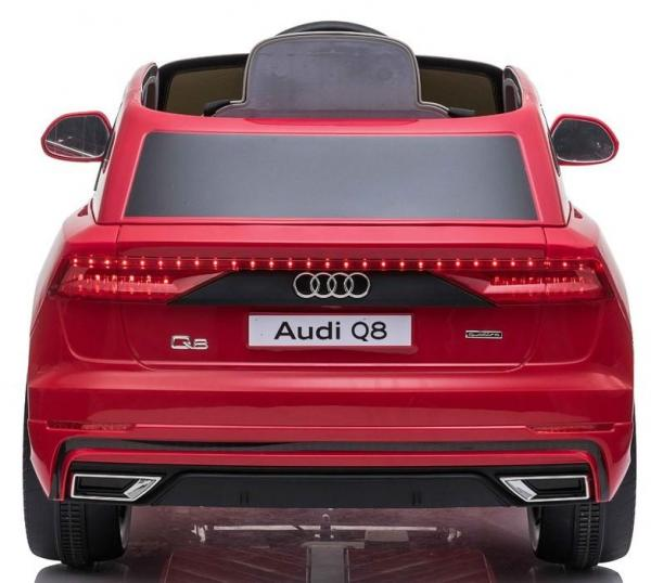 Licensed Audi Q8 SUV 12v Battery / Electric Ride on Car Red-19093
