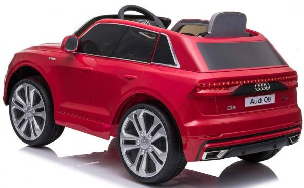 Licensed Audi Q8 SUV 12v Battery / Electric Ride on Car Red-19088
