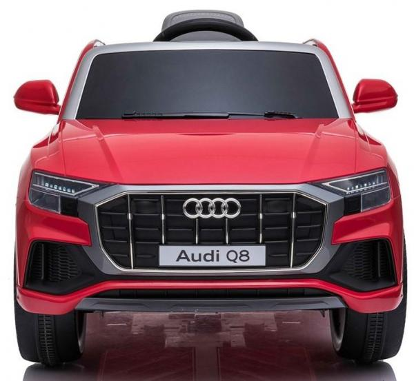 Licensed Audi Q8 SUV 12v Battery / Electric Ride on Car Red-19089