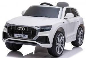 Licensed Audi Q8 SUV 12v Battery / Electric Ride on Car WhiteLicensed Audi Q8 SUV 12v Battery / Electric Ride on Car White-0