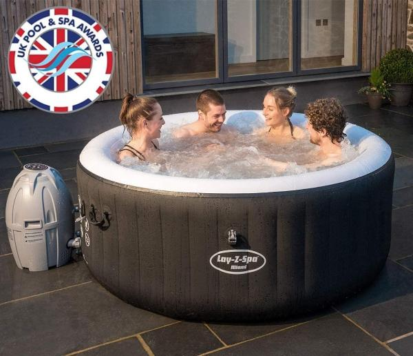 Bestway Lay-Z-Spa Miami Hot Tub 2-4 adults-0