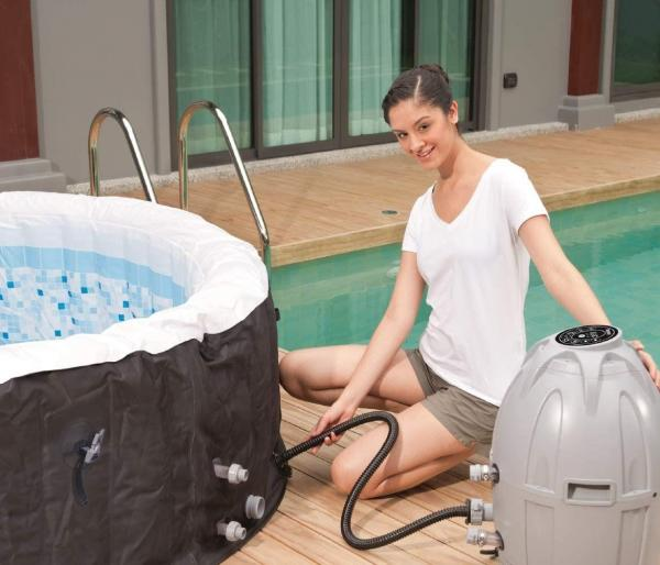 Bestway Lay-Z-Spa Miami Hot Tub 2-4 adults-19950