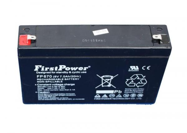 Kids Ride on Car 6V 7.5Ah Replacement / Spare Battery-0