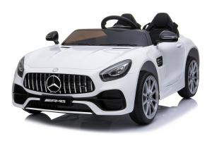 Licensed Mercedes Benz AMG GTR 2 Seater Roadster 12V Ride On Car - WhiteLicensed Mercedes Benz AMG GTR 2 Seater Roadster 12V Ride On Car - White-0