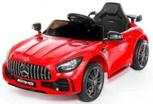 Licensed Mercedes Benz AMG GTR Supercar 12V Ride On Car - Red-0