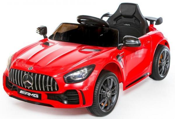 Licensed Mercedes Benz AMG GTR Supercar 12V Ride On Car - Red-0