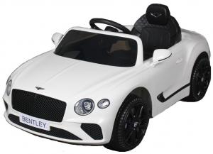 Kids Licensed Bentley Continental GT 12v Electric Ride on Car - WhiteKids Licensed Bentley Continental GT 12v Electric Ride on Car - White-0