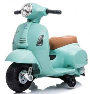 Kids Licensed Vespa GTS Scooter 6v - Teal
