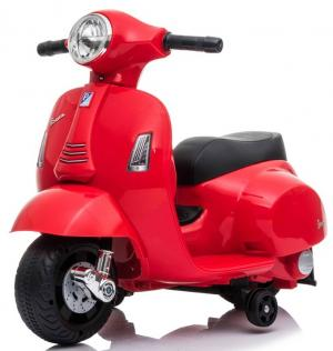 Kids Licensed Vespa GTS Scooter 6v - Red