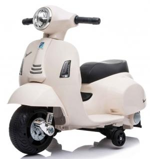 Kids Licensed Vespa GTS Scooter 6v - White