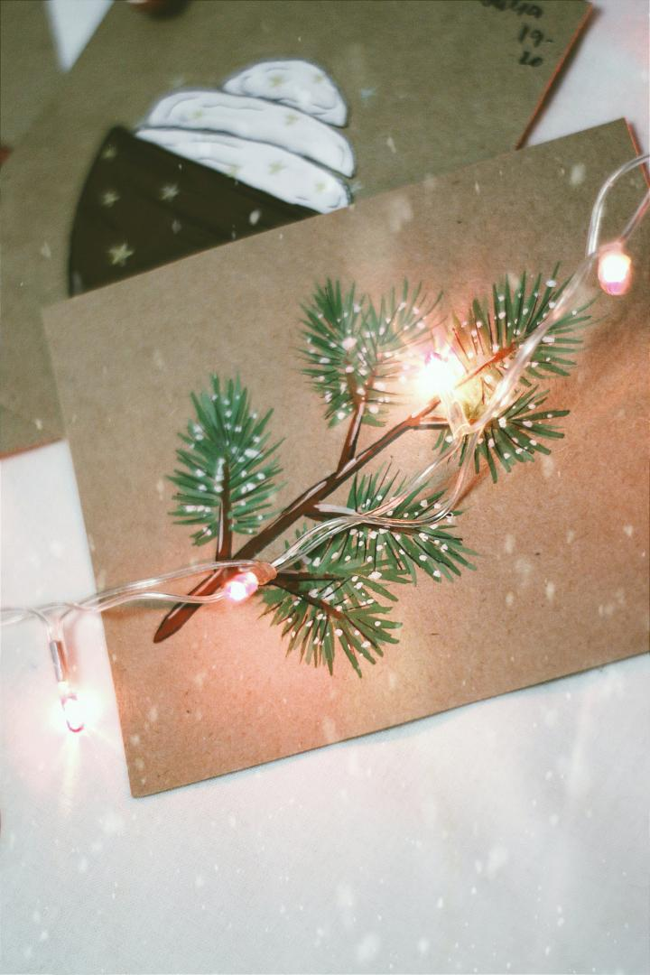 Box Icon Get Crafty with Snowflakes and Christmas cards