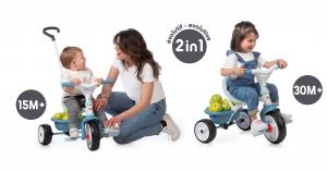 Smoby Be Move Tricycle Comfort Trike Blue