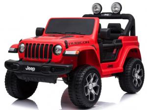Licensed Wrangler Rubicon Jeep ride on car - Red