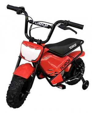 Torqi 250w Electric 24v Battery Dirt Bike / Motorbike Red