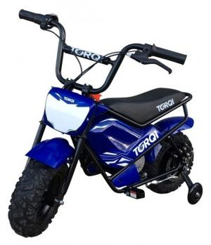 Torqi 250w Electric 24v Battery Dirt Bike / Motorbike Blue