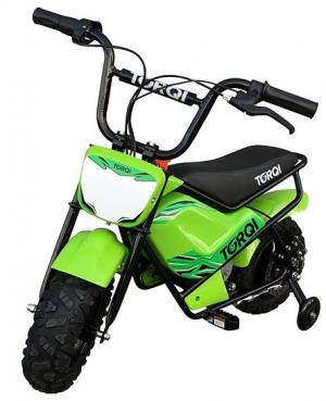 Torqi 250w Electric 24v Battery Dirt Bike / Motorbike Green