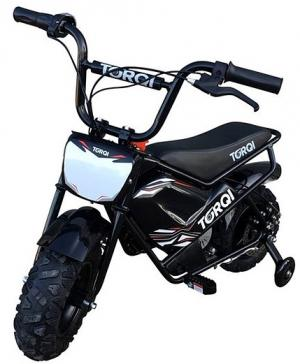 Torqi 250w Electric 24v Battery Dirt Bike / Motorbike Black