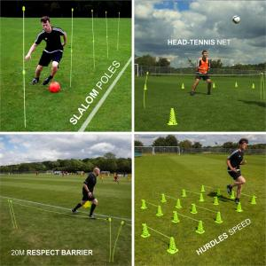 Quickplay Kickster PRO Speed & Agility Set (8 Functions)