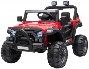 2 Seater Wrangler Style Jeep 12v Electric Battery Ride on Car - Red