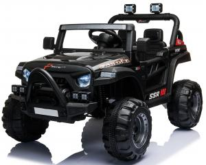 2 Seater Wrangler Style Jeep 12v Electric Battery Ride on Car - Black