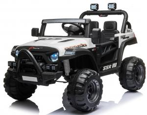 2 Seater Wrangler Style Jeep 12v Electric Battery Ride on Car - White