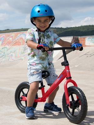 Kiddimoto Super Junior Balance Bike - Red