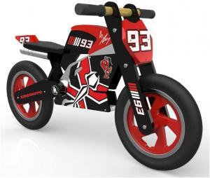 Kiddimoto Official Marc Marquez Moto GP Rep Wooden Balance Bike